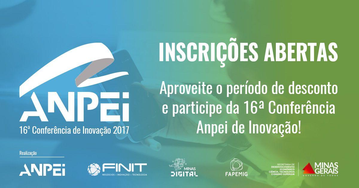 ANPEI – 16ª Conferência de Inovação 2017